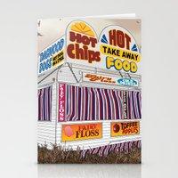 Carnival Food Van Stationery Cards