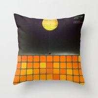 Nothing - Facebook Shape… Throw Pillow