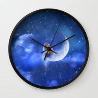 Moonfox Wall Clock