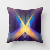 Angular Color Throw Pillow