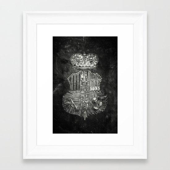 Once Were Warriors Framed Art Print