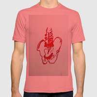 Spinal  Mens Fitted Tee Pomegranate SMALL