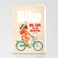 bike Stationery Cards featuring BIKE by melivillosa