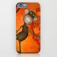 Happy Monkey iPhone 6 Slim Case