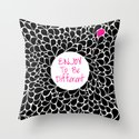 Enjoy to be Different Throw Pillow