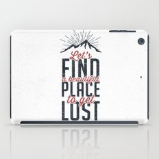 FIND A PLACE iPad Case