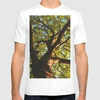 Tree of life Mens Fitted Tee White SMALL