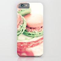 Peppermint Macarons iPhone 6 Slim Case