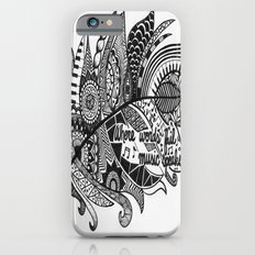 Zentangle Feather iPhone 6 Slim Case