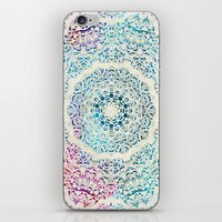 Watercolor Mandala iPhone & iPod Skin