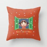 Day 20/25 Advent - Christmas Morning Throw Pillow