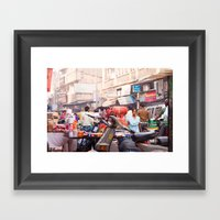 India New Delhi Paharganj 5577 Framed Art Print