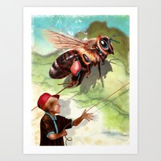 BumbleFreeze Art Print