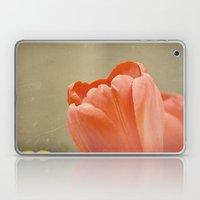 Orange Tulip Laptop & iPad Skin