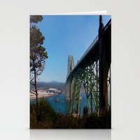 Cross Over Into Paradise Stationery Cards