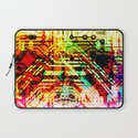Color circuit Laptop Sleeve