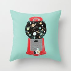 My childhood universe Throw Pillow
