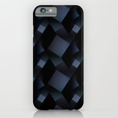 3D navy folds pattern Slim Case iPhone 6s