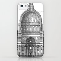 iPhone 5c Cases featuring St. Peter Basilica - Rome, Italy by Palazzo Art Gallery