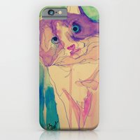 iPhone & iPod Case featuring Cat by Dillon Brannick