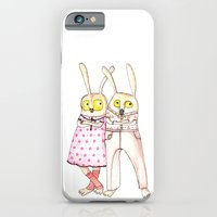 iPhone & iPod Case featuring Lovers by OneEyed