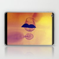Hipster Wine Glass Laptop & iPad Skin