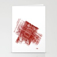 Red Robot! Stationery Cards