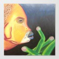 a Bright Depth Canvas Print