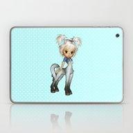 Cute Adorable Elf Pony B… Laptop & iPad Skin