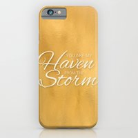 iPhone & iPod Case featuring Haven from the Storm by Grace Kelly McConnell