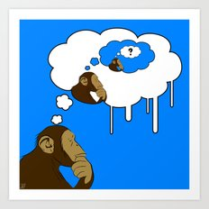 Apeception ?  Art Print