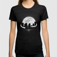 Goodnight Womens Fitted Tee Tri-Black SMALL
