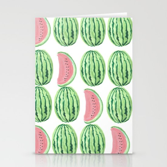 Watermelon Mania Stationery Card