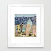 Thigh-Curious Framed Art Print
