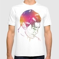 Let It Breath Mens Fitted Tee White SMALL