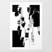 conflicted collection Art Print