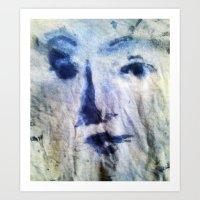 VENUSIAN FACE5 Art Print