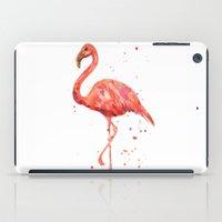 Flamingo, Pink Flamingo, Tropical, bird art, Florida iPad Case