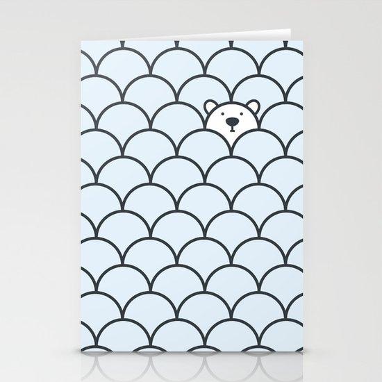 The Last Polar Bear Stationery Card