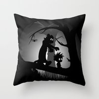 A Wrong Turn Throw Pillow