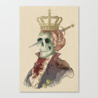 I LOVE THE KING Canvas Print