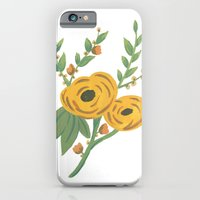 iPhone & iPod Case featuring SPRING VINTAGE FLORAL by natalie sales