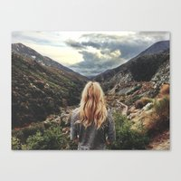 The storms come this way Canvas Print