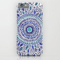 Indigo Flowered Mandala iPhone 6s Slim Case
