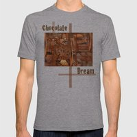 Chocolate Dream Mens Fitted Tee Athletic Grey SMALL