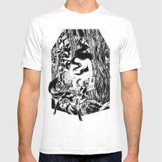 'The Erl King will do you grievous harm' White Mens Fitted Tee SMALL
