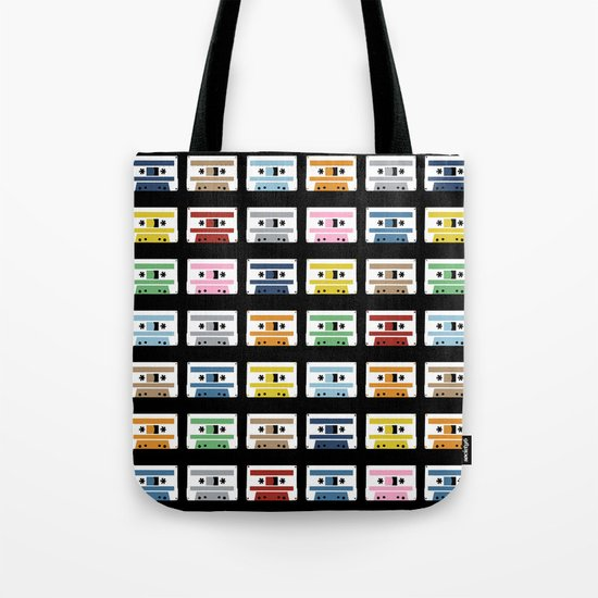 70 Rainbow Tapes Tote Bag