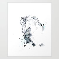 Horse Study I Art Print