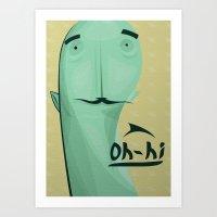 Avatard Art Print