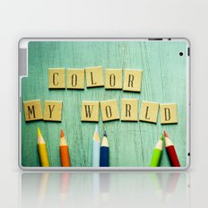 Color My World Laptop & iPad Skin